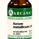 Аурум Металликум (Aurum Metallicum) в гомеопатии