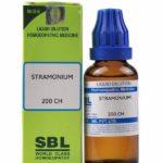Страмониум в гомеопатии: показания к применению